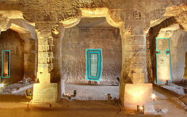 virtual reality app on ajanta caves