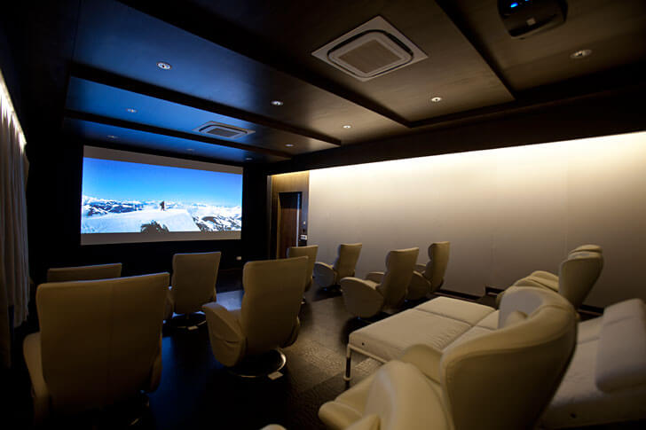 """home theatre zz architects indiaartndesign"""
