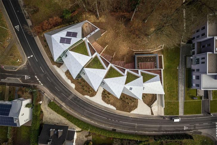 """aerial view metaform architects indiaartndesign"""