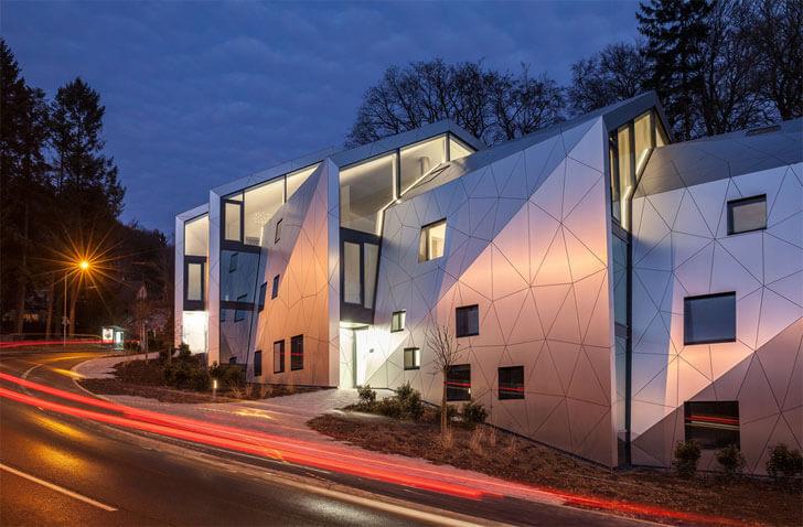 """split form metaform architects indiaartndesign"""