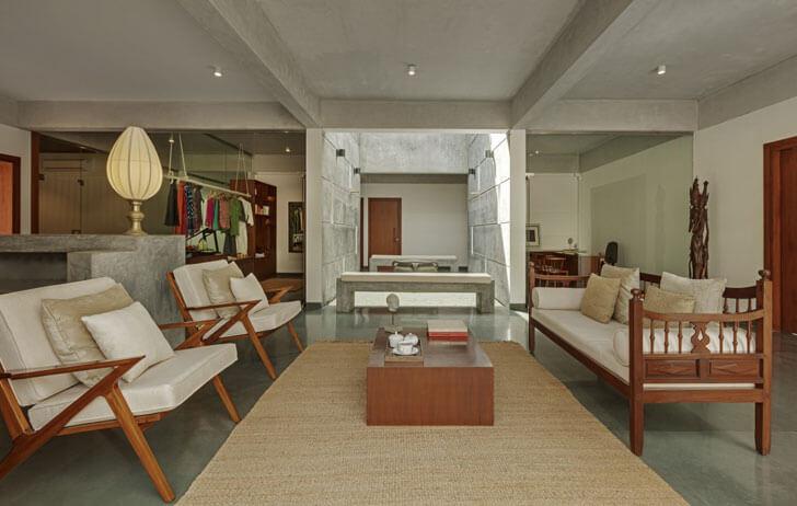 """lounge Shreyas Retreat Purple Ink Studio indiaartndesign"""