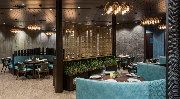 """3seventy restaurant neovana design indiaartndesign"""