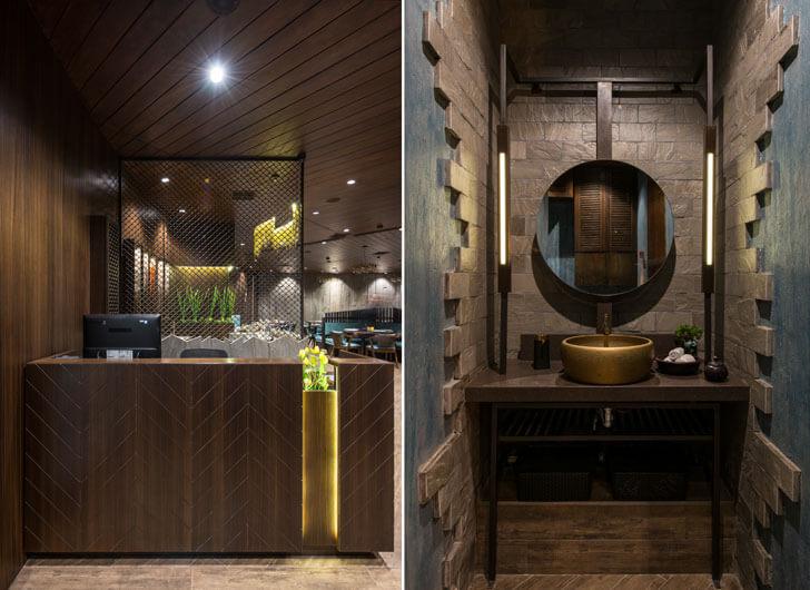"""details 3seventy restaurant neovana design indiaartndesign"""