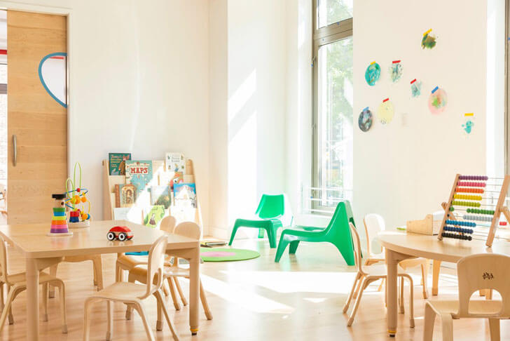 """child sensitive interiors maple street school BFDO 4MATIV indiaartndesign"""