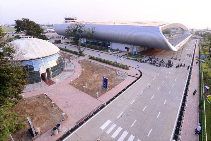 """aerial view Vadodara airport creative group indiaartndesign"""