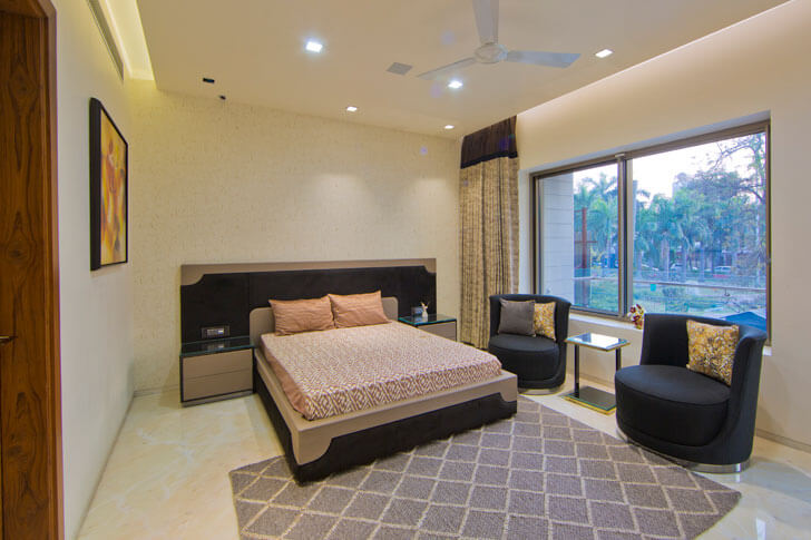 """plush bedroom design cosmos indiaartndesign"""