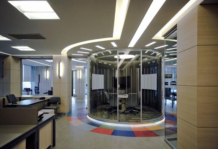 """circular meeting AktifGroupHQ Edda architecture indiaartndesign"""