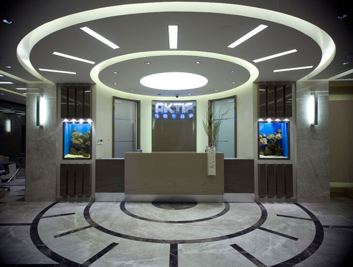 """reception AktifGroupHQ Edda architecture indiaartndesign"""