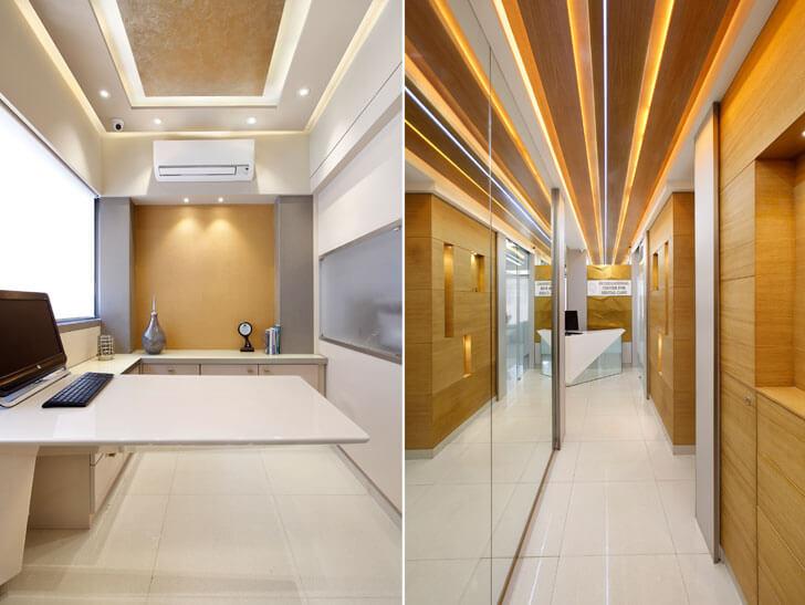 """corridor dentist clinic mahesh punjabi indiaartndesign"""