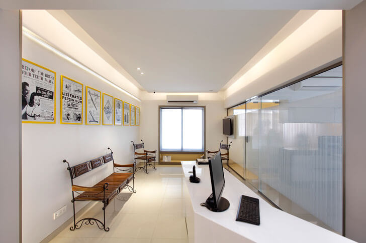 """reception dentist clinic mahesh punjabi indiaartndesign"""