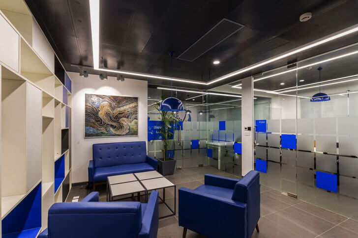 """office interiors IMT Manesar renesa architects indiaartndesign"""