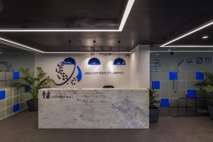 """reception IMT Manesar renesa architects indiaartndesign"""