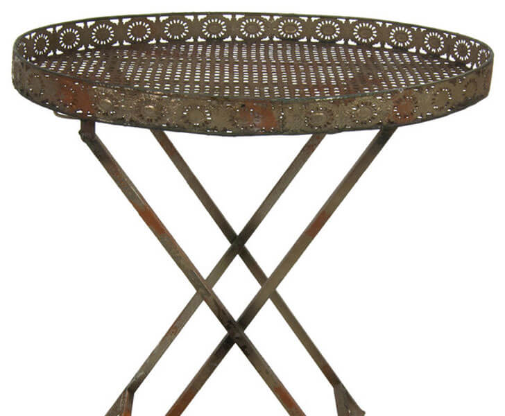 """rustic outdoor side table indiaartndesign"""