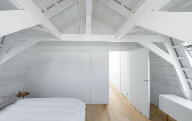 """attic bedroom i29 architects indiaartndesign"""