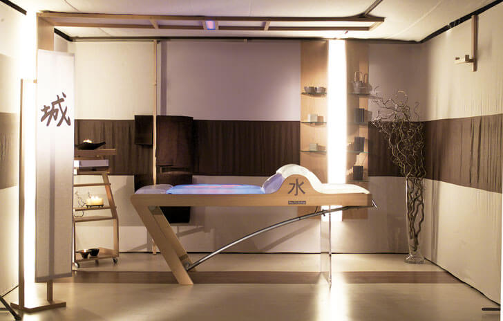 """bespoke furniture spa design alberto apostoli indiaartndesign"""
