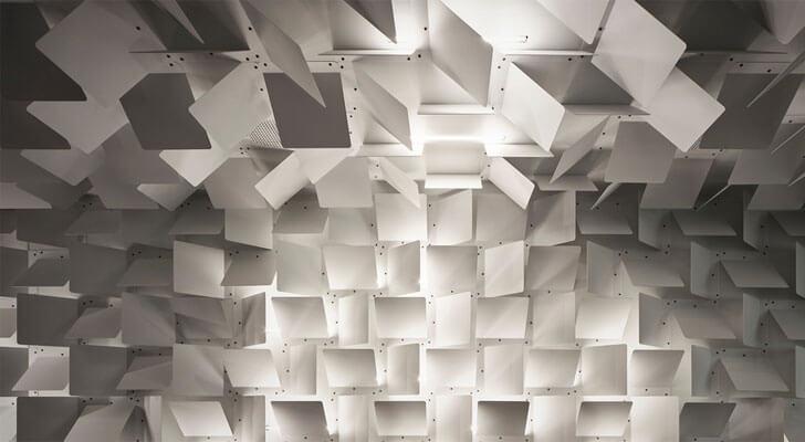 """metal plates overview headfoneshop Batay Csorba Architects indiaartndesign"""