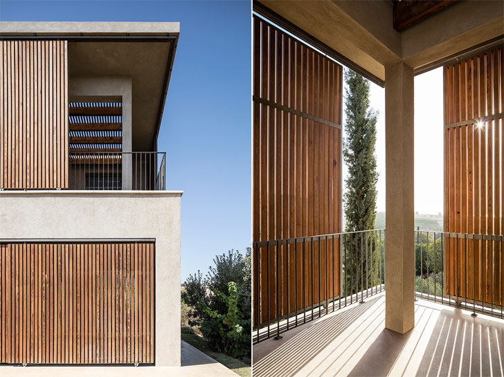 """mashrabiyas home in galilee Golany Architects indiaartndesign"""