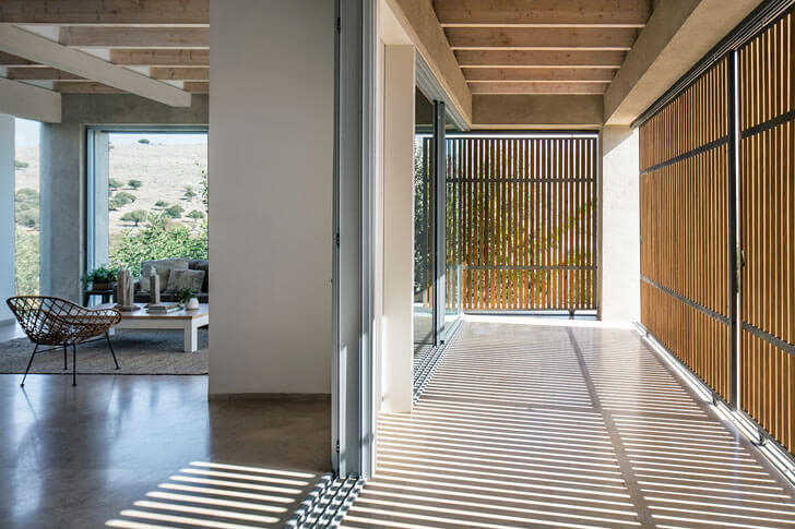 """spacious home in galilee Golany Architects indiaartndesign"""