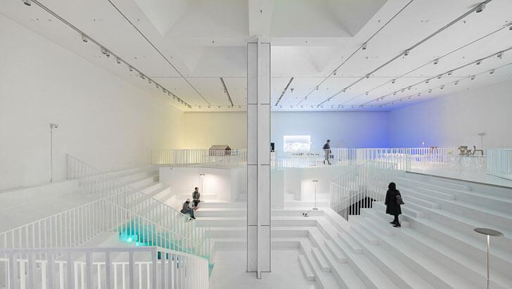 """""""staircase Design Museum Shenzhen MVRDV indiaartndesign"""""""