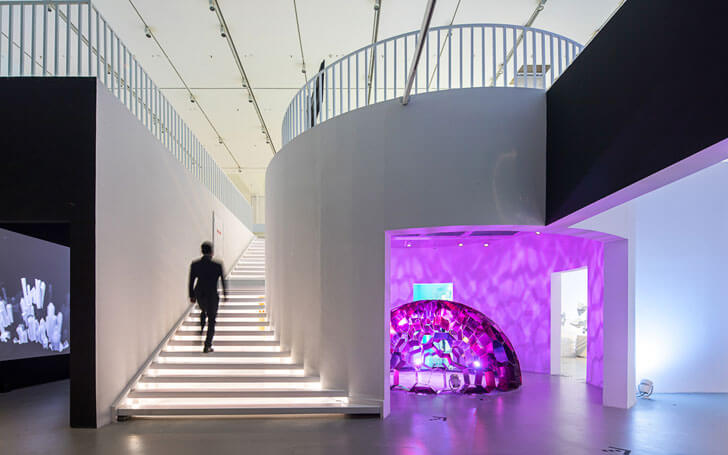 """two levels Design Museum Shenzhen MVRDV indiaartndesign"""