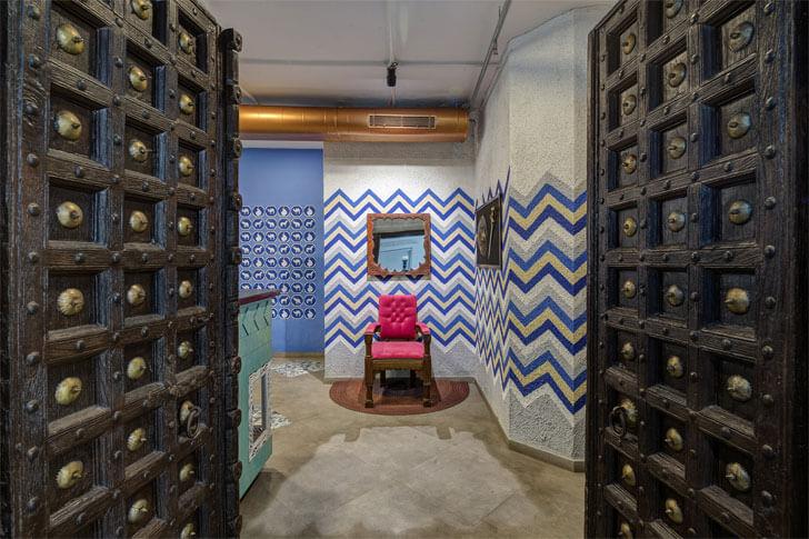 """""""heritage door panchvati gaurav sankraman studio indiaartndesign"""""""