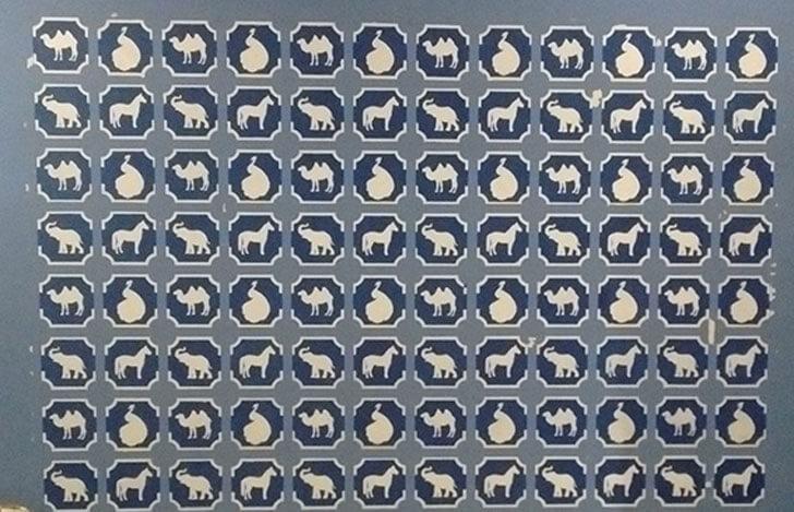 """""""painted animal motifs panchvati gaurav sankraman studio indiaartndesign"""""""