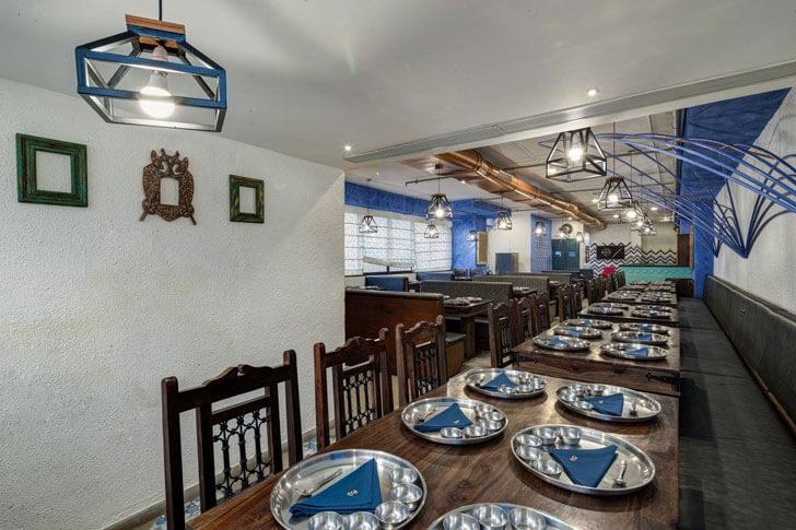 """thali restaurant panchvati gaurav sankraman studio indiaartndesign"""
