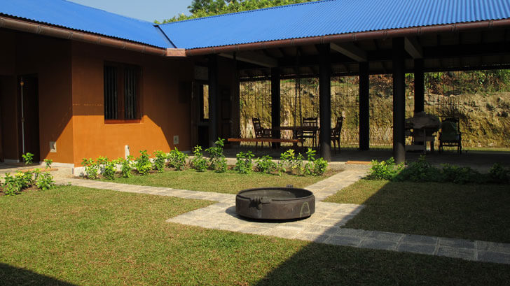 """central courtyard with urli by day anjalendran indiaartndesign"""