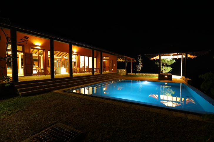 """pool at night anjalendran indiaartndesign"""