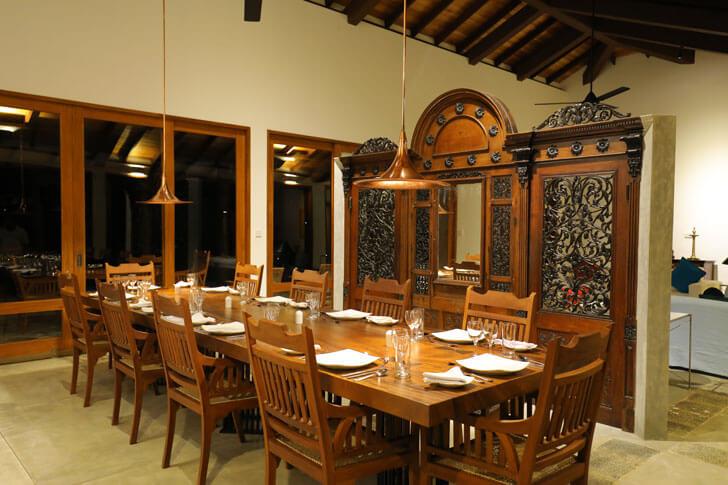 """dining room anjalendran indiaartndesign"""