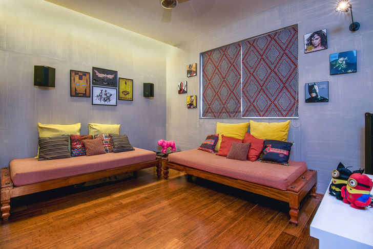"""home theatre studio TAB indiaartndesign"""