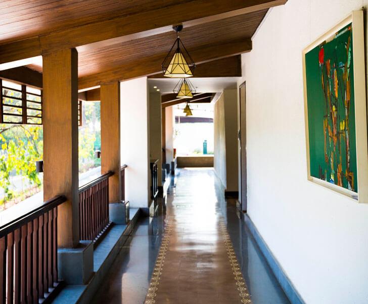 """corridor rhythm resorts arch group international indiaartndesign"""