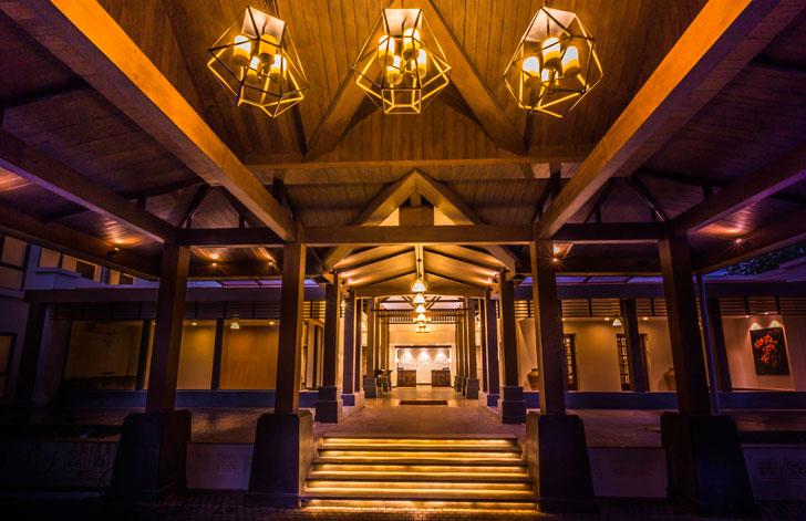 """entrance interior rhythm resorts arch group international indiaartndesign"""