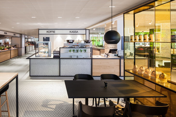 """food stations Bijenkorf i29 interior architects indiaartndesign"""