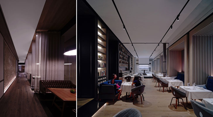 """book bar rest chao hotel GD lighting design indiaartndesign"""