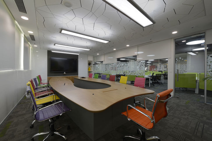 """board room globant beyond design architects indiaartndesign"""