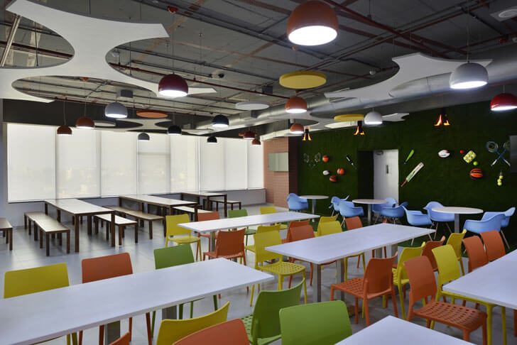 """cafe globant beyond design architects indiaartndesign"""