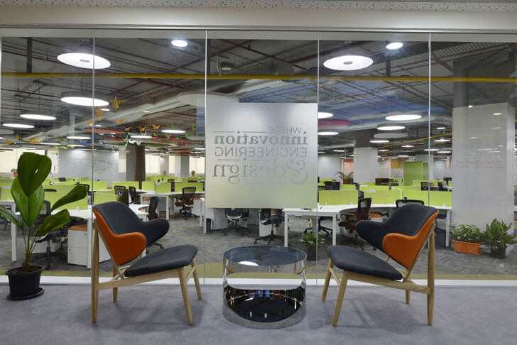 """interview room globant beyond design architects indiaartndesign"""