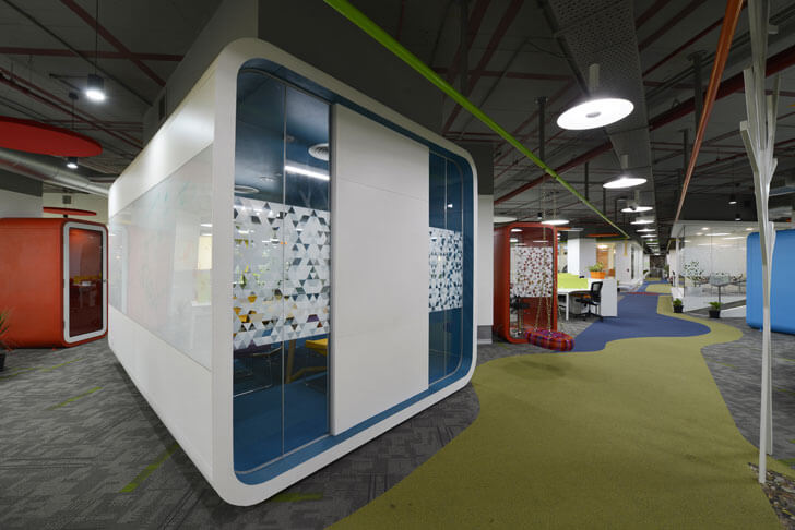 """open plan globant beyond design architects indiaartndesign"""