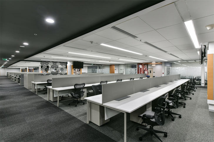 """here solutions open plan office beyond design indiaartndesign"""