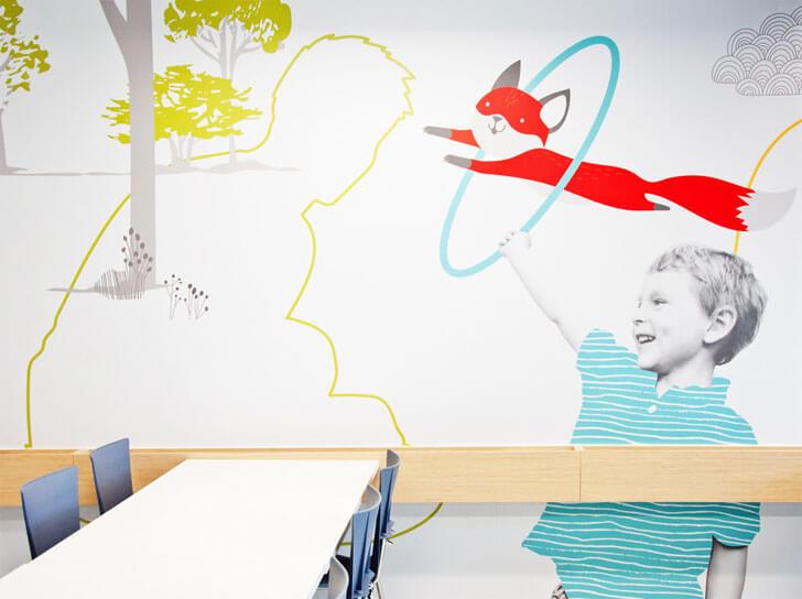 """wall art cegep Marie indiaartndesign"""