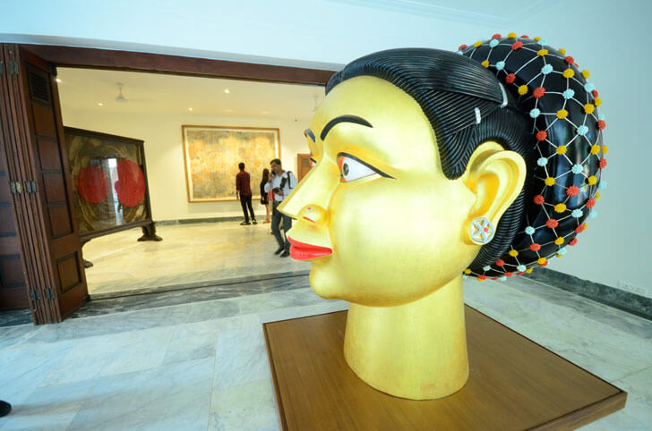 """contemporary art kasturbhai lalbhai museum indiaartndesign"""