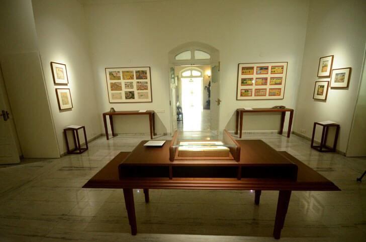 """exhibits kasturbhai lalbhai museum indiaartndesign"""