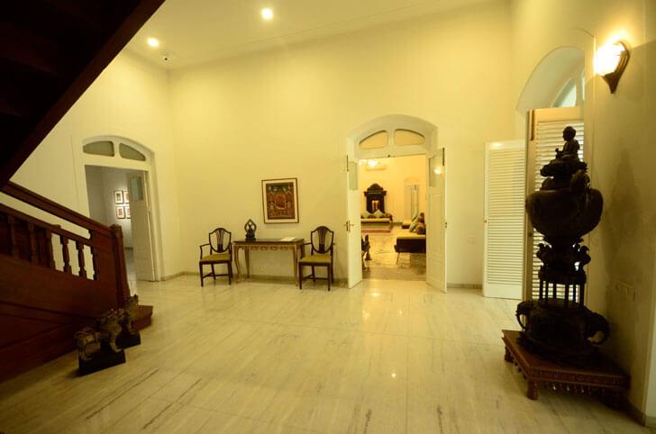 """grand staircase kasturbhai lalbhai museum indiaartndesign"""