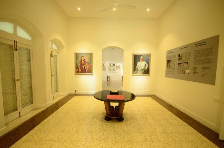 """""""hallway kasturbhai lalbhai museum indiaartndesign"""""""