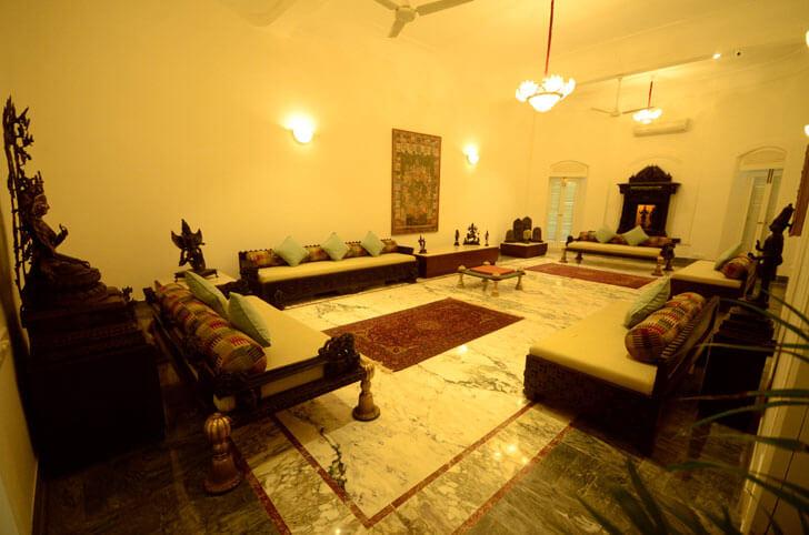 """""""living room kasturbhai lalbhai museum indiaartndesign"""""""