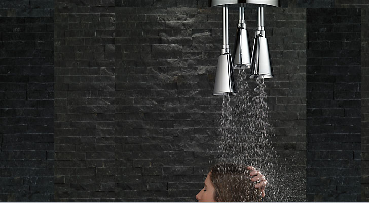 For a wholesome shower!