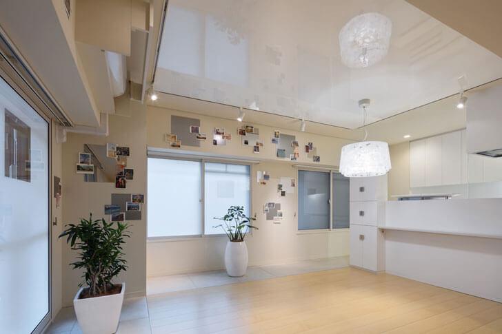 """gleaming ceiling Yusaku Matsuoka architects indiaartndesign"""