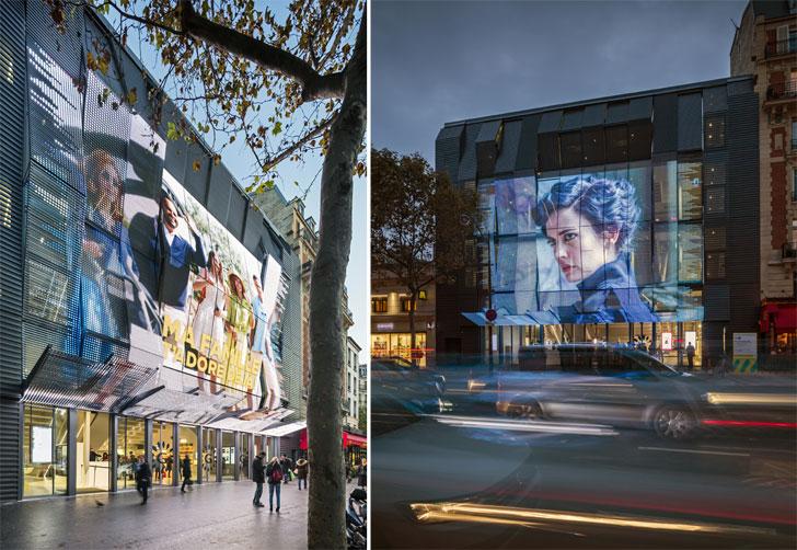 """""""facade alesia cinema manuelle gautrand studio indiaartndesign"""""""