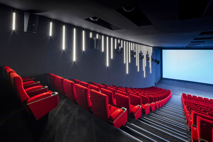 """theatre alesia cinema manuelle gautrand studio indiaartndesign"""